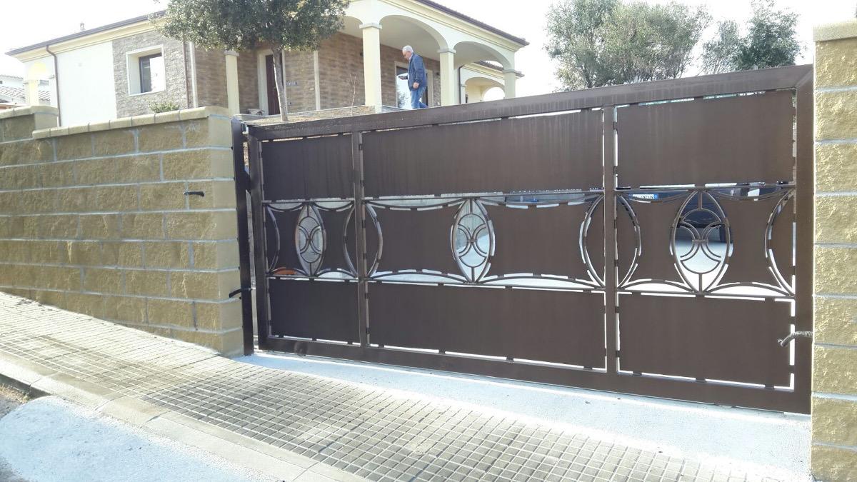 Disegni per cancelli in ferro latest costruzione cancelli for Cancelli in ferro leroy merlin