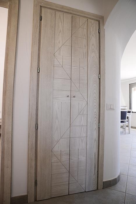 Porta Doppia per cabina armadio